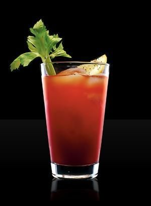 Carla Styles' Bloody Mary: There are 1,000 variants of the bloody mary, but my favorite comes from our family friend Carla and is not gritty or bitter. Take Clamato juice (I know...trust me), add vodka, a dash of Tabasco, two dashes of Worcestershire, and a squeeze of lemon juice. Garnish with celery if you like. No horseradish or pepper! It's got just the right blend of spicy and refreshing.: Bloodymary, Happy Hour, Recipe, Bloody Mary Mix, Food, Tomato Juice, Home Made Bloody, Cocktails, Drinks
