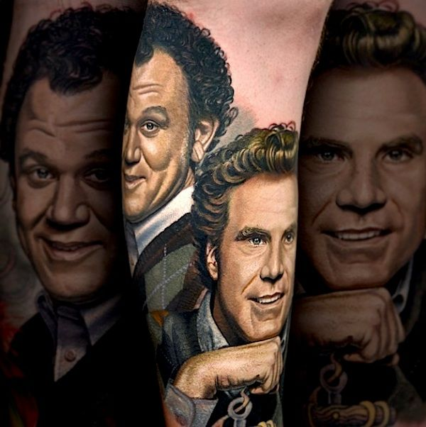 Best known for his guest appearances on LA Ink and huge roster of celebrity clients, Nikko Hurtado is no doubt a master of the realistic portrait. His prec