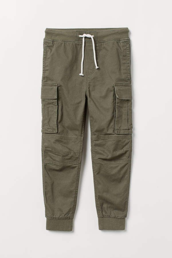 Dark cotton pants  Kids pants  Casual pants  Comfortable cotton trousers   Elastic waist pants with pockets  Unisex Trousers