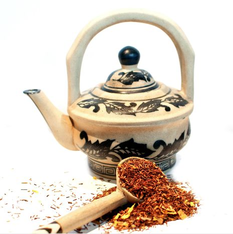 This reddish-orange rooibos tisane from South Africa is infused with aniseed and sunflower petals. It has a slightly sweet and tangy licorice flavour which pairs beautifully with any salmon dish or with the refreshing taste of mint. http://www.ladybakersteatrolley.com/products-page/herbals/dutch-licorice-rooibos-herbal-tea/