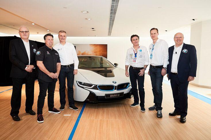 BMW i extends partnership with FIA Formula E