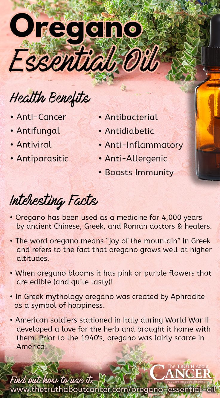 Inside a bottle of oregano essential oil are powerful plant-based chemicals that can help you fight a virus, kill fungi and bacteria, chase off parasites, boost your immune system, counter the effects of aging, and so much more. Click on the image above and read on to find out how oregano is being used for healing, the latest research, and 14 practical tips for using it!