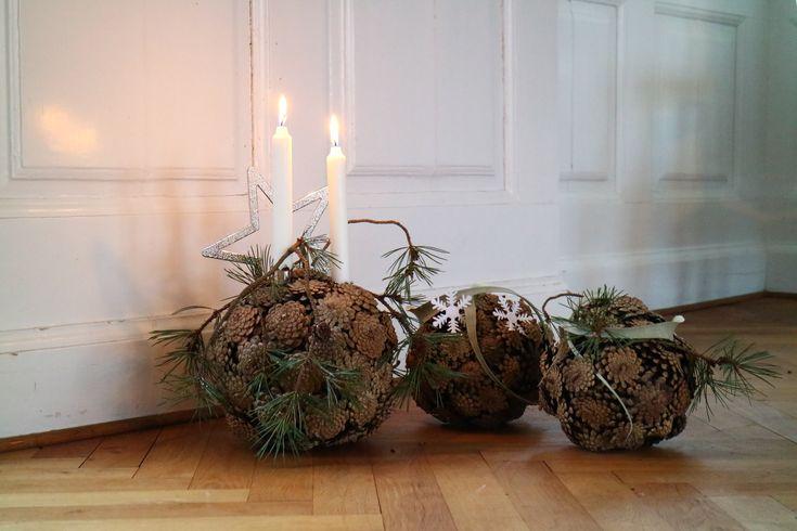 Dieser wunderschöne Ball ist mein absoluter Lieblingsweihnachtsschmuck ♥ den ich gemacht habe … – Weihnachten Floristik