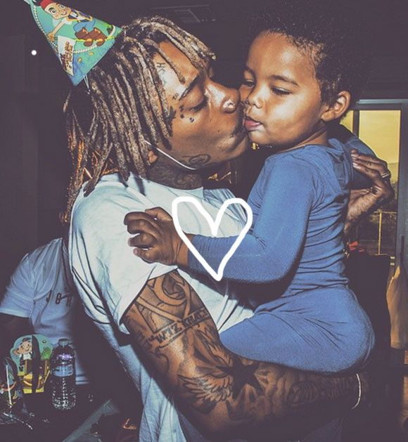 Wiz Khalifa Throws Another Birthday Party For His Son — And This Time, Sebastian Was There To Enjoy It! But Was Amber Rose In Attendance?