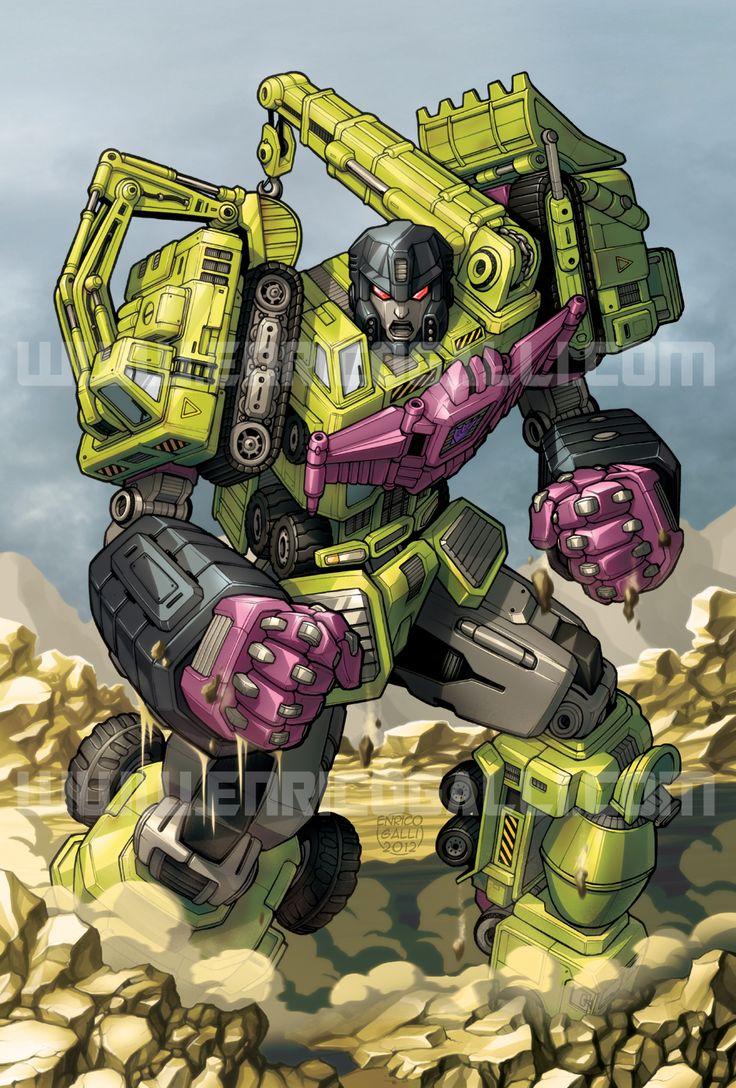Transformers: DEVASTATOR by EnricoGalli on DeviantArt