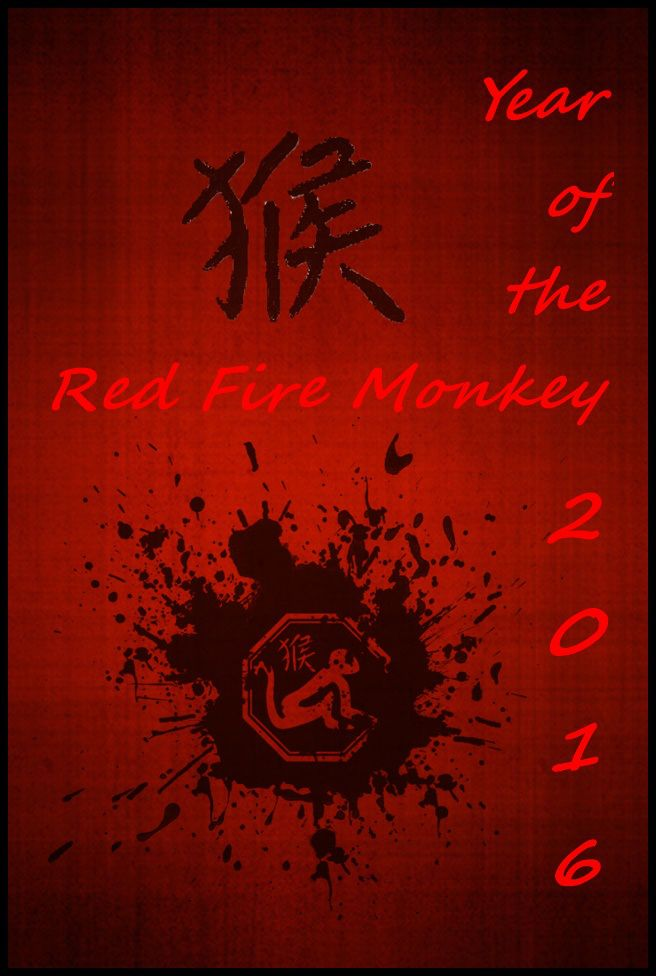 Chinese Year of the Fire Monkey ~ 2016 | Apanache: