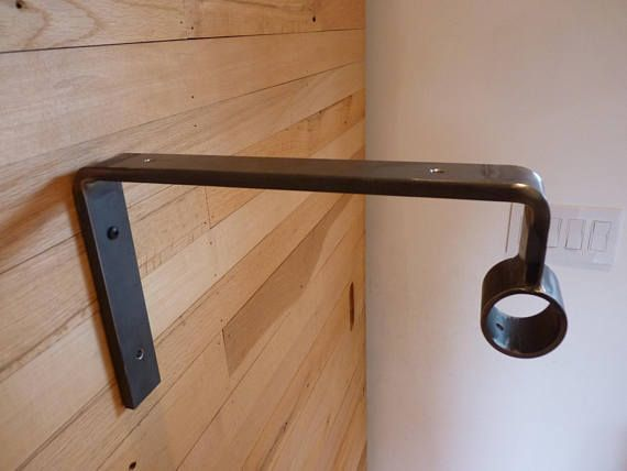 1 Bracket For Closet Rod Shelf D Series Etsy Closet Rod Closet Rods Shelf Brackets