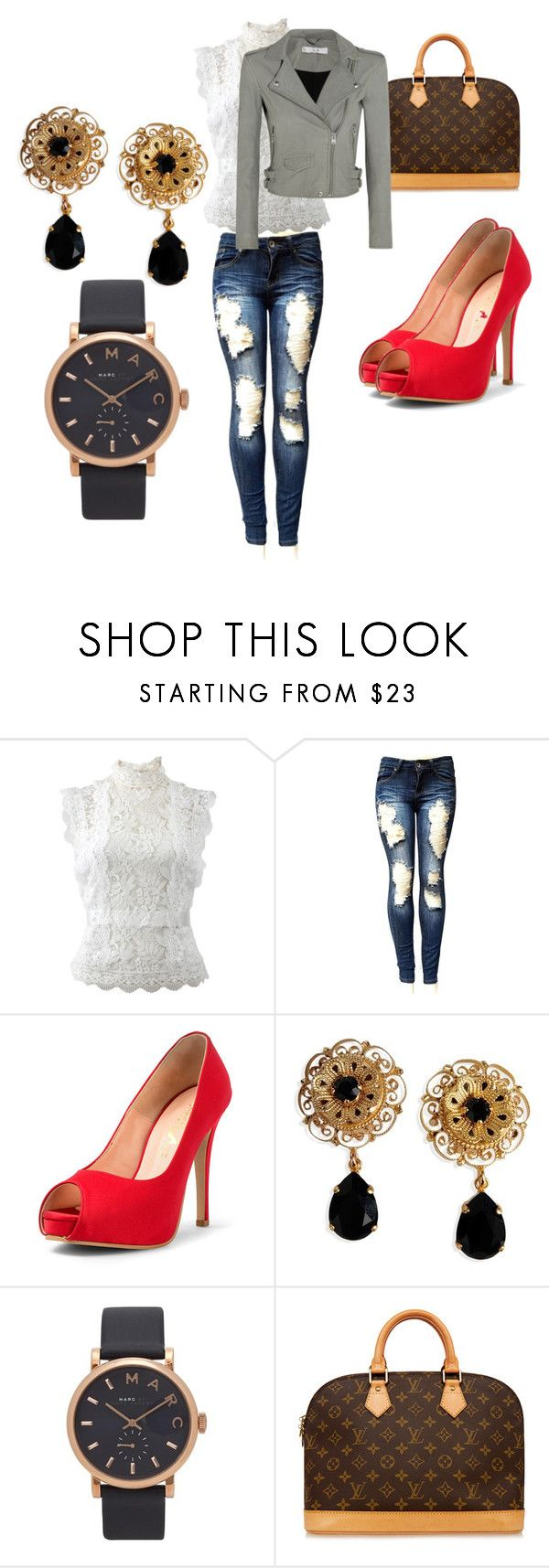 """""""21st Birthday Outfit #2"""" by jelly12-861 ❤ liked on Polyvore featuring Oscar de la Renta, Dolce&Gabbana, Marc Jacobs, Louis Vuitton and IRO"""