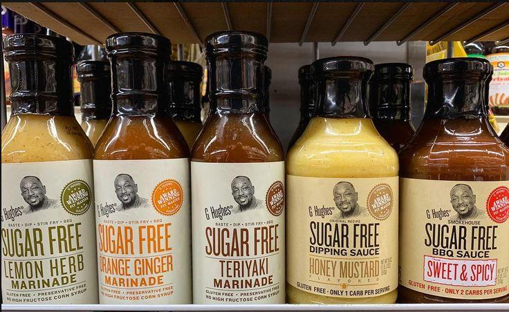 G hughes sugar free marinades sauces and dips sugar