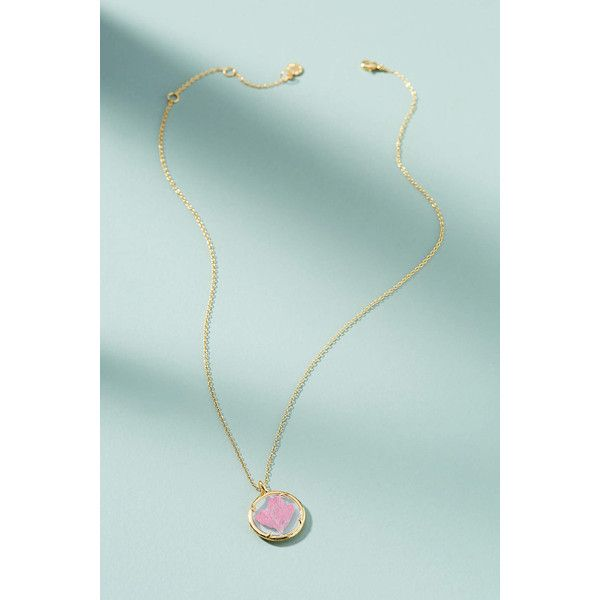 Catherine Weitzman Birthstone Flower Pendant Necklace ($88) ❤ liked on Polyvore featuring jewelry, necklaces, holly, flower pendant necklace, flower pendant, tie jewelry, catherine weitzman and tie necklaces