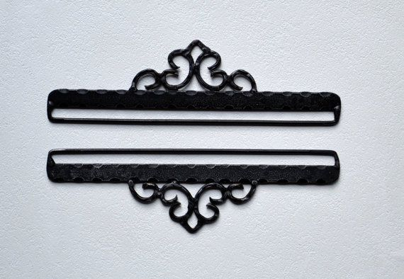 Wrought iron klokkestreng embroidery by soilevuoartandcrafts