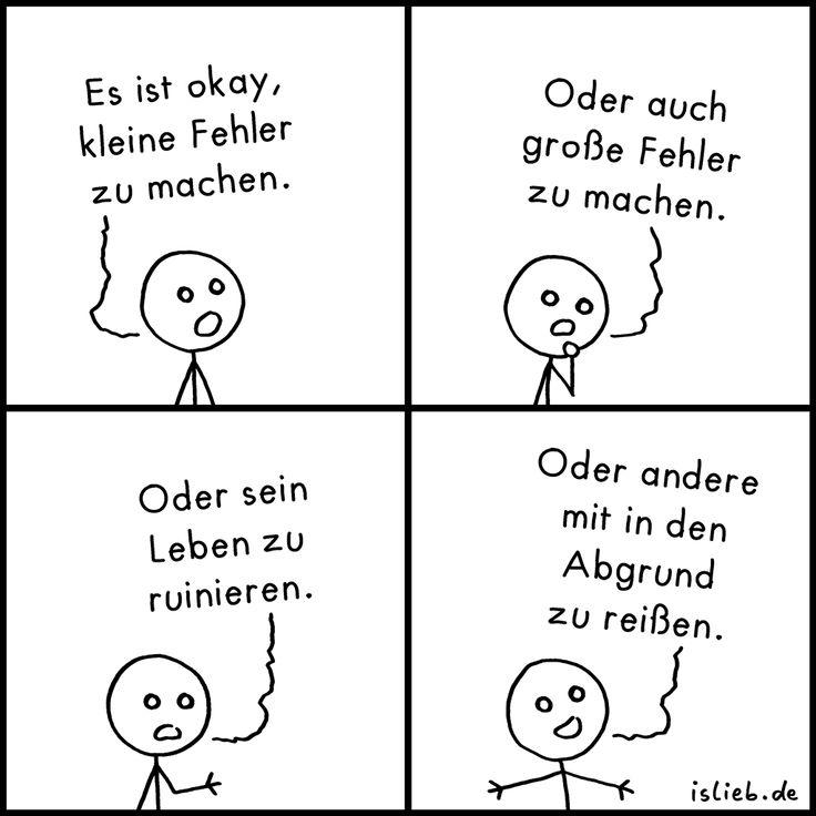 Kleine Fehler | #islieb #comic