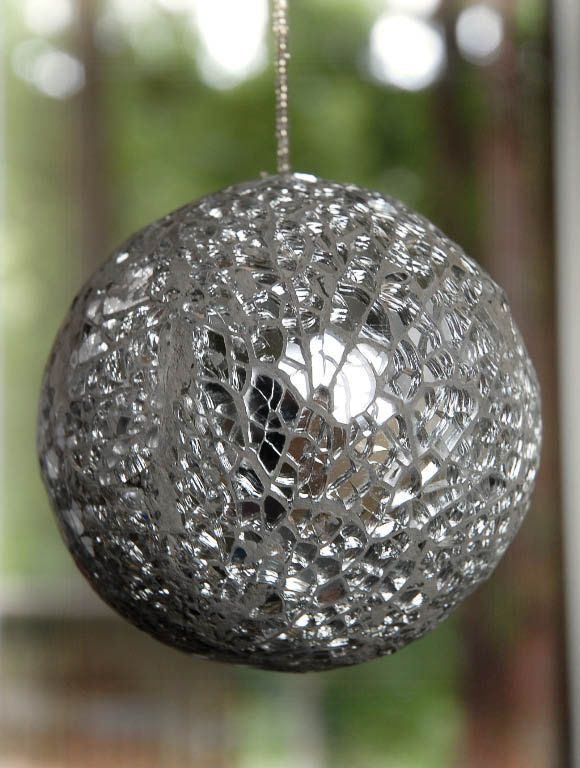 Silver Mosaic Ball At Save On Crafts Com Products I Love