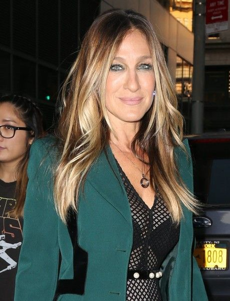 Actress Sarah Jessica Parker heads out and about in New York.