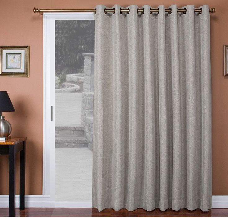 Best 25+ Sliding door curtains ideas on Pinterest | Slider ...