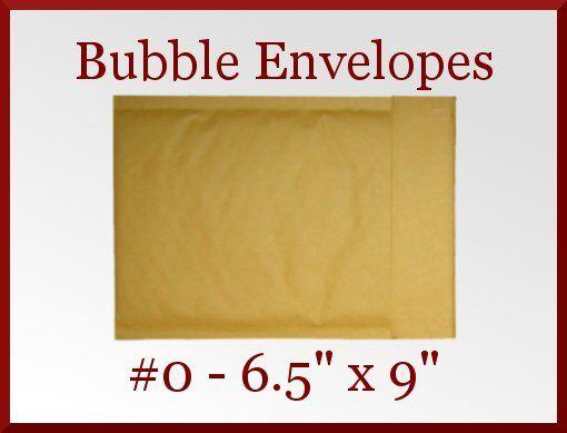50 Kraft CD DVD 0 Mailer Bubble Padded Envelope 6.5 x 9 Made in America  SALE at CDVDMart