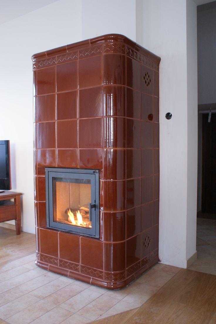 kominek kaflowy projekt i wykonanie Zduni Ekspresja Ognia