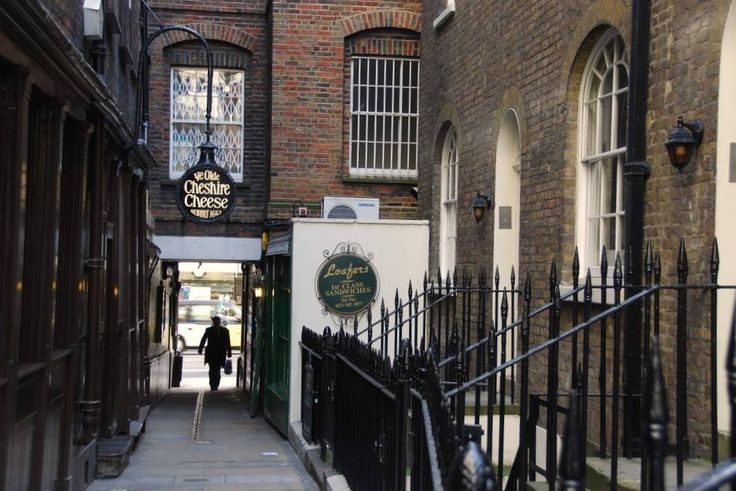 Ye Olde Cheshire Cheese is a Grade II listed public house at 145 Fleet Street, on Wine Office Court, City of London.