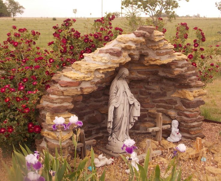 One of the TOP 20 entries to the 2014 Catholic Garden Photo Contest entry | The Catholic Company    Our Catholic Garden Photo Contest runs every summer through our Facebook page. Get your garden ready & submit your photo in 2015!