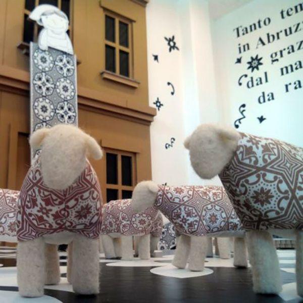 """Musetta"" pecorella in lana - Arago Design"