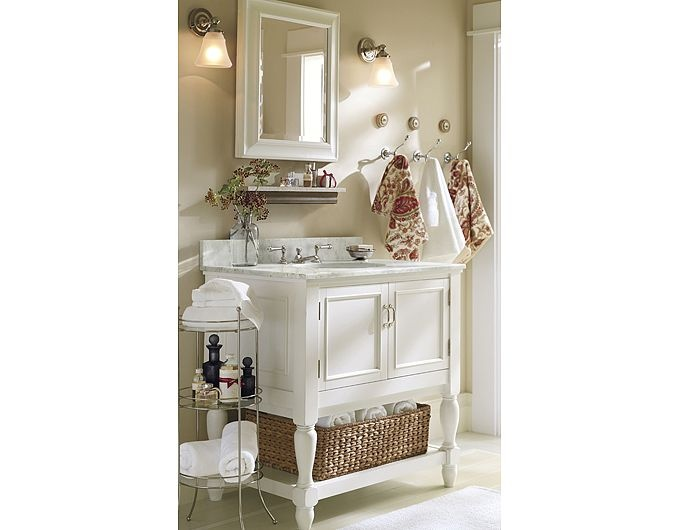 17 best images about bathroom on pinterest eclectic for Pottery barn bathroom designs