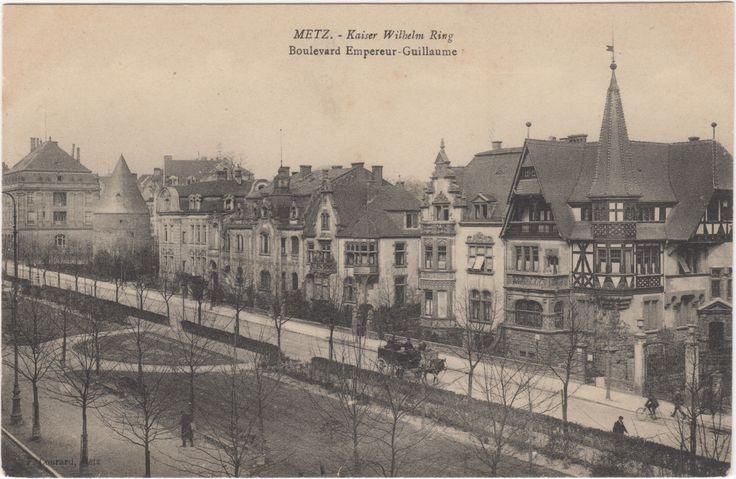 Les maisons sur le boulevard ext rieur le kaiser wilhelm for Boulevard exterieur
