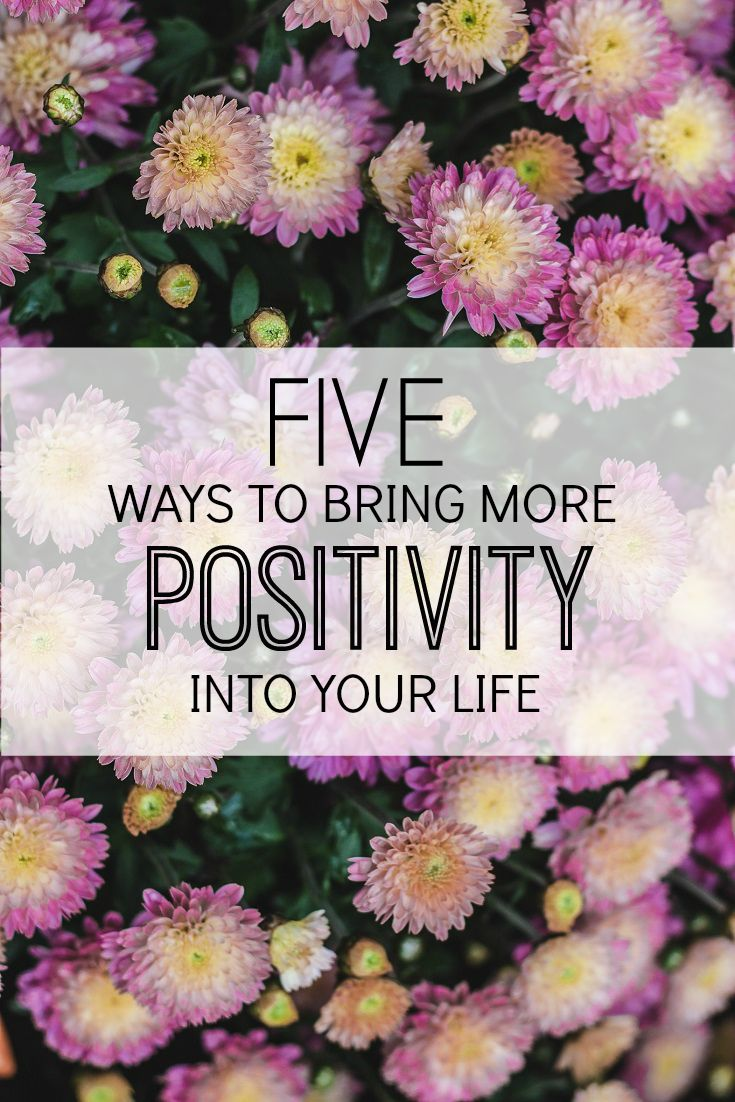 5 things I do to lead a more positive life. :) http://prettyloved.com/five-ways-to-bring-more-positivity-into-your-life/