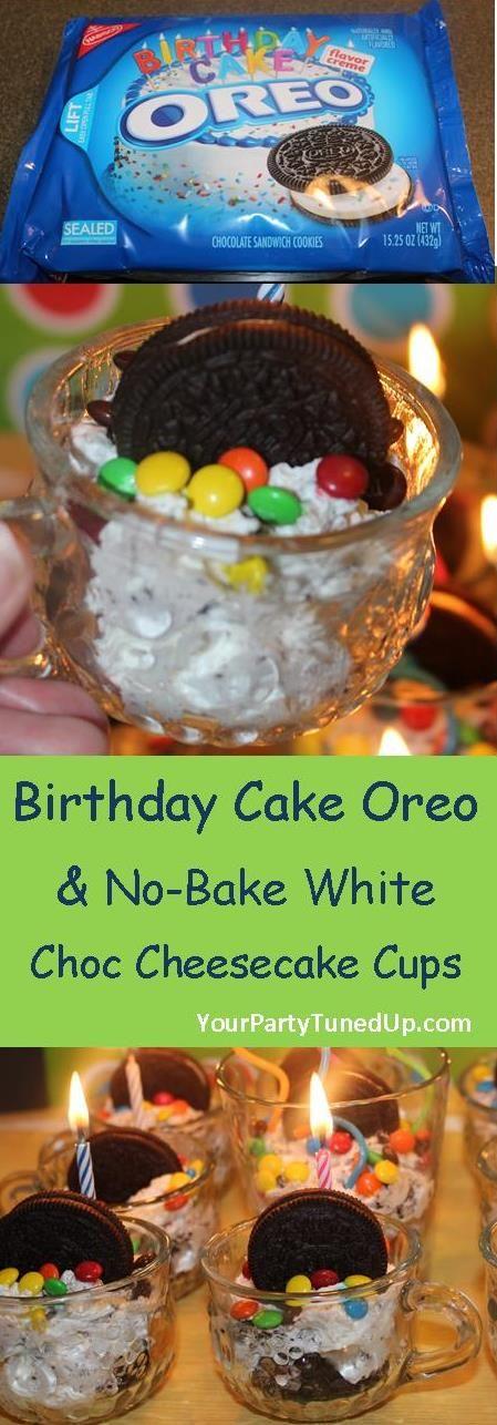 The 25 best Oreo birthday cakes ideas on Pinterest Easy oreo