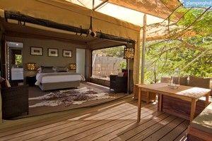 Raised Timber Pathways Lead to Eco Tent Rentals, Australia
