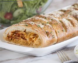 Printing Recipe - Braided Spaghetti Bread | Rhodes Bake-N-Serv