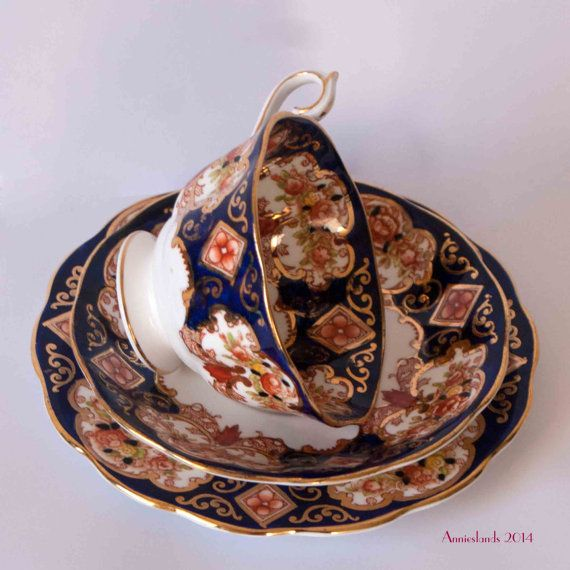 Royal Albert Heirloom Imari Cup Saucer Plate Royal by Annieslands