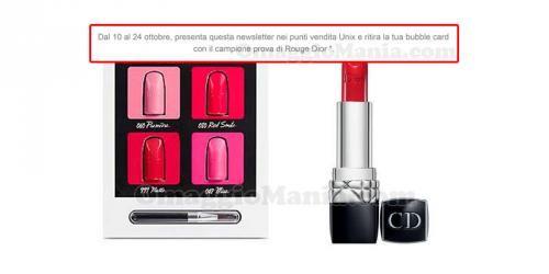 BuoniSconto: #Campioni #omaggio #rossetto Rouge Dior (link: http://ift.tt/2e5UGYs )