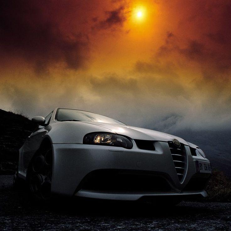 The Alfa 147 GTA under the burning sun!