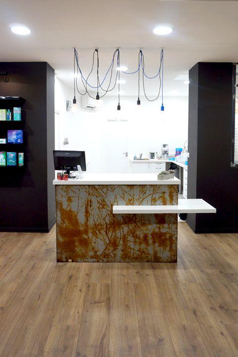 """Retail shop design. """"L'art de Voir"""" Optical shop . Designer: Pierrick Poncet (France)"""