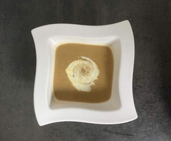 Kastaniensuppe bzw. Maronensuppe von senkblei auf www.rezeptwelt.de, der Thermomix ® Community