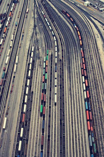 Railroads in the city: Training Stations, Colors Combos, Yard, Raybansunglass Rayban, Christina Shaffel, Art Prints, Training Track Photography, Outlets Raybansunglass, Weights Loss