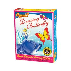 Dancing Butterfly Celebration Fireworks Online Shopping Bangalore at best price, direct from factory, sivakasi. Buy firecrackers from Ayyanonline. Buy quality crackers at best price from Ayyan fireworks online store.