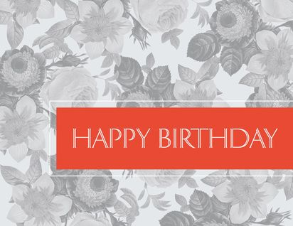 104 best birthday cards images on pinterest birthdays card shop preview image for product titled floral birthday orange birthdays card shopcorporate bookmarktalkfo Gallery