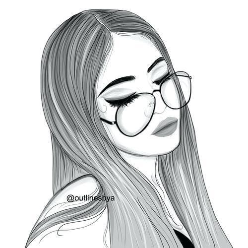 Disegni A Matita Di Ragazze Wallpapers Tumblr Girl Drawing