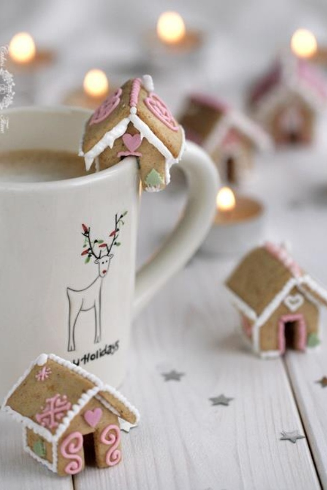 Gingerbread & hot cocoa cookies