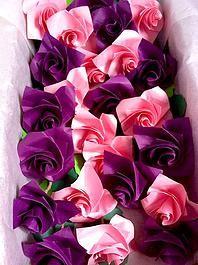 diseno tsuru diseño, matrimonio decoracion invitaciones, bouquet bogota origami ramos novia rosas