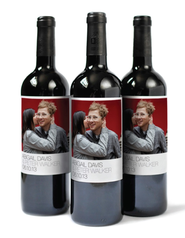Custom photo wine labels this would be super cute to for Cute wine bottles