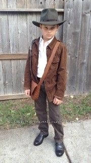Indiana Jones Costume for 9-Year-Old Boy...