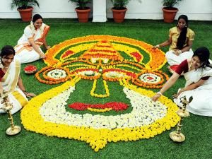 Onam festival celebrations across India!