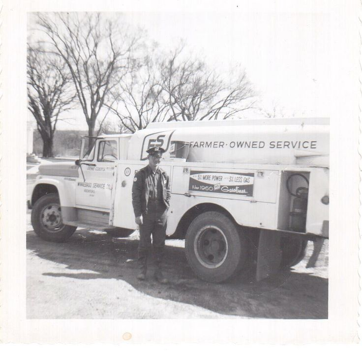 https://flic.kr/p/QKDM23 | FS Fuel Oil in 1960 | My father delivered fuel oil for a company called FS (Farmer's Service) when I was a baby.  This is the truck that he drove when he worked for the company in 1960.