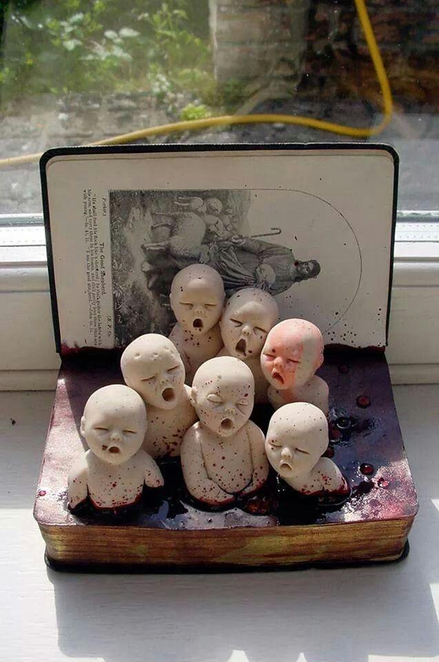By Cunni Outsider art/forgotten children
