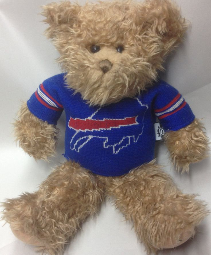 Buffalo Bills Plush Teddy Bear