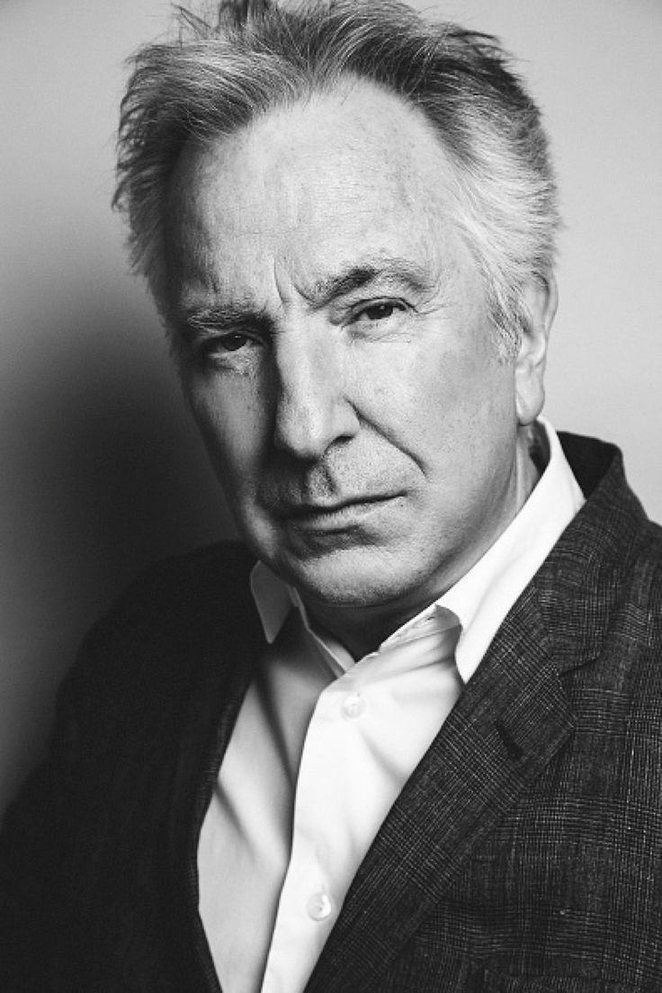Rest in peace sweet love — yesterdaysheroes:   Alan Rickman   ©Francois...