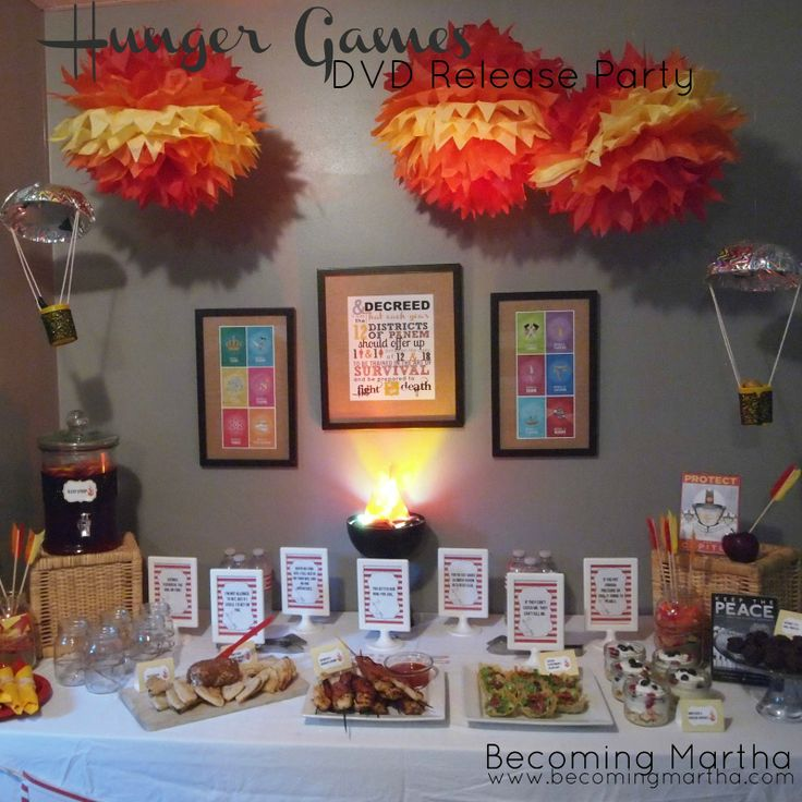 hunger games party & 120 best Hunger Games images on Pinterest | Birthday party ideas ...