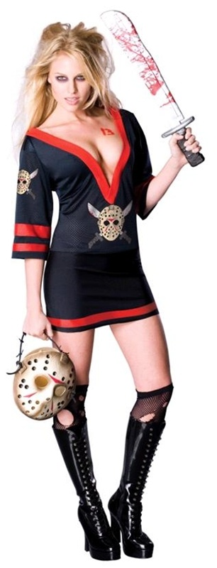 Mrs Jason Voorhees Sexy Adult Costume #sexy jason voorhees costume #sexy friday the 13th
